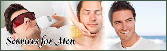 cosmetic services for men